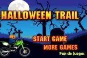 Free Motorcycle halloween Game