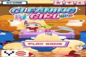 Cleaning girl RPG