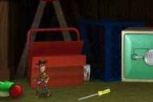 El escape de Woody: Toy Story