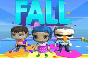 Fall Guys and Fall Girls Chibi Race