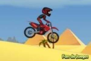 Motocross in the pyramids