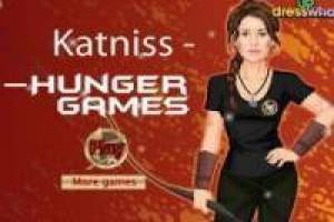 The Hunger Games Katniss vestir-se