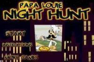 Papa Louie arcade: Night Hunting