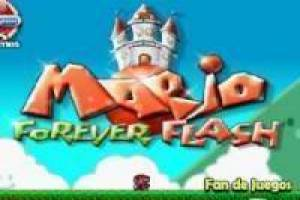 Free Mario forever flash Game