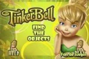 Tinkerbell looks for hidden objects