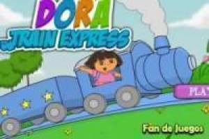 Le train de Dora l'exploratrice