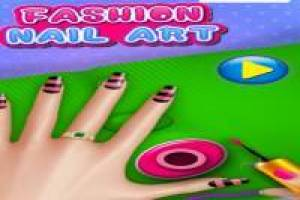 Make a fashion manicure