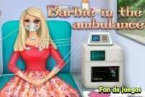 Barbie in de ambulance