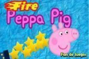 Peppa pig fuoco