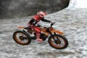 Motocross in den Winterbergen