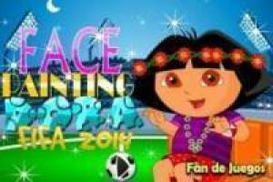 Dora the explorer in the fifa