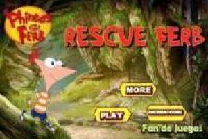 Free Phineas rescues Ferb Game