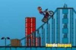 Spiderman: motos de acrobacias