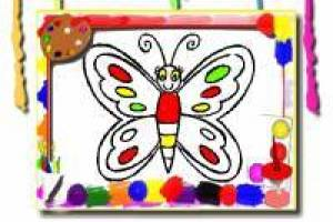 Butterflies: Coloring Album
