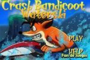 Crash Bandicoot on your watercraft