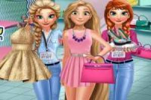 Rapunzel, Anna and Elsa: Shopping Day