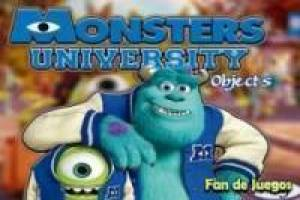 Monstros University: objetos escondidos