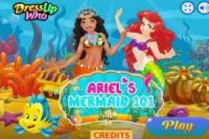 Ariel turns Moana into Mermaid