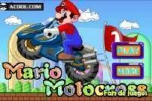 Free Mario motocross Game