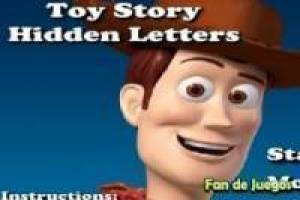 Toy Story: Letras escondidas