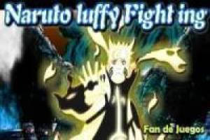 Naruto VS Luffy: Lucha