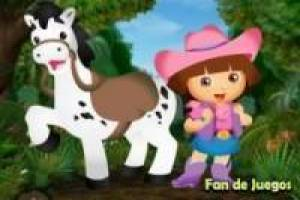 Dress Dora with the pony