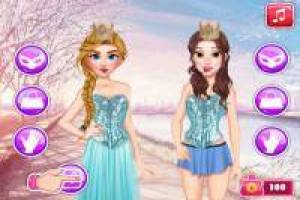 Princesses: Fashion Challenge in Social Networks