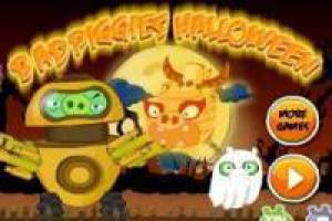 Juego Bad Piggies Halloween Gratis