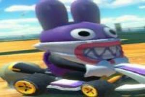 Nabbit in Mario Kart