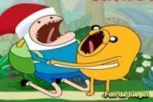 Adventure time, war on christmas