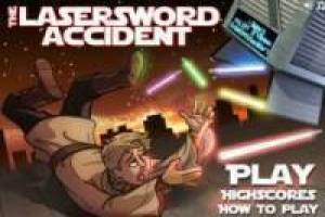 The Lastersword accident: Star Wars