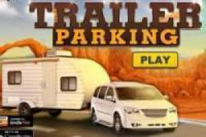 Free Parking caravan trailer Game
