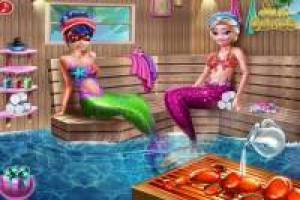 Ladybug and Elsa: Enjoy a spa day