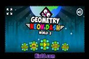 Geometry Neon Dash: World 2