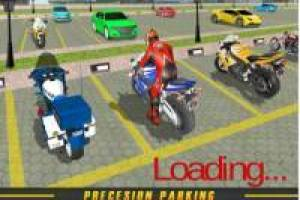 Bike Ride Parking Game 3D