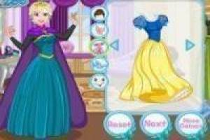 Disney Princesses: Dress and make up with style