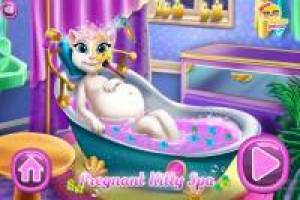 Angela Pregnant: Relaxing Spa