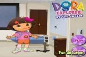 Dora the Explorer in the hospital