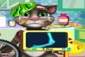 Talking tom, acidente moto