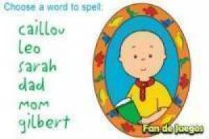 Caillou and his friends