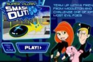 Kim possible crush the villain