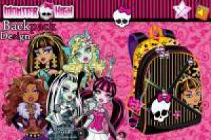 Monster High: Diseña tu mochila