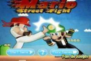 Juego Super Mario Street Fight Gratis