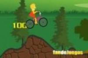Simpson: Lisa à vélo
