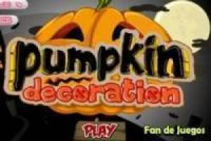 Free Creating Halloween pumpkin Game