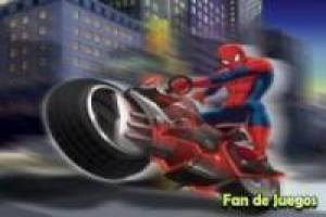Free Spiderman dangerous ride Game