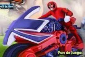 Power ranger: Carreras de motos