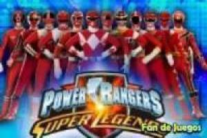 Power rangers: puzzles