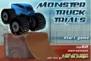 Juego Monster truck trials Gratis