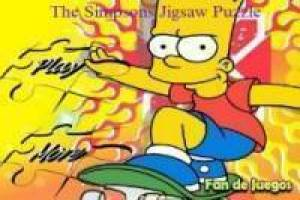 9 puzzels simpsons